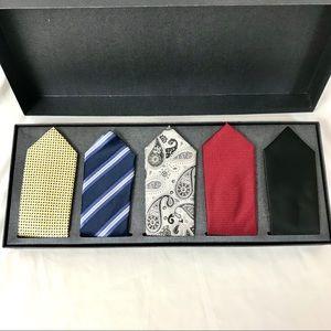 NIB! Handmade Men's ties for 5 days gift set